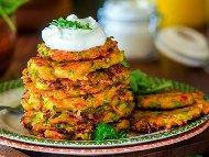 Зеленчукови кюфтенца от моркови